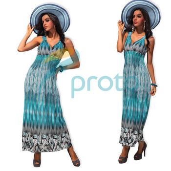 M XXL Plus Size Freeshipping 2013 New Fashion Women Sexy Flower Print Bohemian Maxi Long Beach Dress Summer Casual Dress 4188