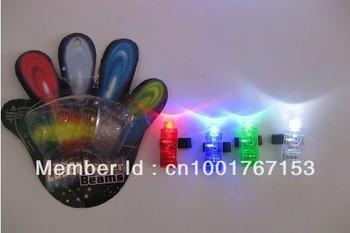 Colorful laser finger ring light, cheer props
