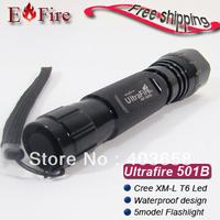 HOT UltraFire 501B Flashlight 1300 Lumens CREE XM-L T6 LED 501B Flashlight Torch