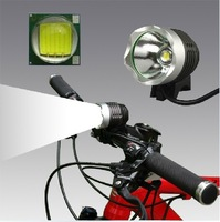 T6 Bicycle Light and HeadLight 1200 Lumens 3 Mode Waterproof Bike Front LED HeadLamp With 8.4v 4400mAh Battery Pack & Charger