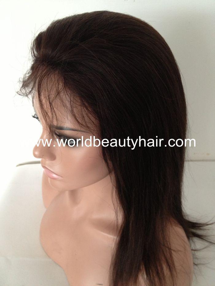 Human Hair Clip In Half Wigs 78