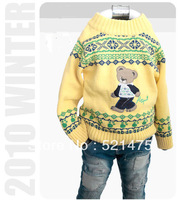 New Arrival High Quality Children Sweater Fall 2013 Cardigan Sweater Christmas Baby Boys Sweaters Kids Winter Sweater Outerwear