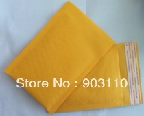 "100 pc/lot size 4x8 [102mm""x204mm""] KRAFT BUBBLE MAILERS PADDED MAILING ENVELOPE BAG SHIPPING SUPPLY bubble kraft box krate tag(China (Mainland))"