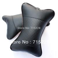 Car headrest neck pillow car headrest car pillow cervical pillow bone pillow Free Shipping 2pcs