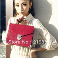 women messenger bag shoulder bag street all-match personality briefcase women leather handbags