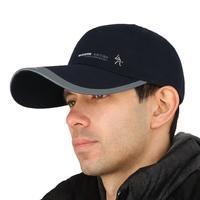 100% cotton Outdoor men summer sun hat fashion casquette chapeu large brim sun protection baseball cap casual cap