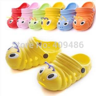 2014 Kids Summer shoes Children baby eva hole sandals garden slides slippers for boys girls 3M-9yrs Flip Flops