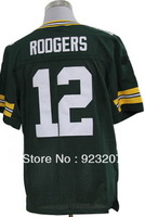 2013 Cheap Green Bay American Football Jerseys.Mens QB #12 Aaron Rodgers #53 Perry #50 Hawk White/Green/Split Elite Sport Shirt