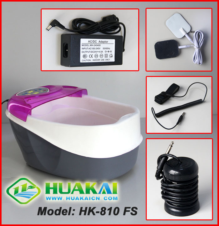 [3G] HK-810FS Ion Detox Foot Bath(China (Mainland))