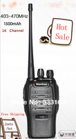 2 sets/lot Lowest Price Wanhua Mini two-way radio HK Post Air Mail Free Shipping 403-470MHz UHF 16 CH portable Two way radio