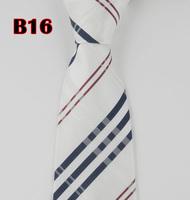 Wholesale 1pcs Classic Man's Silk Stripe Tie Necktie Men's suits tie Necktie pinstripe stripe free shipping B16