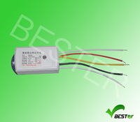 Free shipping 220V~240V AC microwave sensor switch motion sensor switch Detection distance 5-8m,detection Range 360 degree
