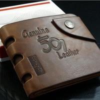 New 2014 Letter Nunber Printd Men Wallets/Brand Short Fold PU Leather Wallets Men/Designer Men Purses