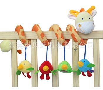 0-1 years old baby toys, baby deer ItsImagical trade multifunctional hanging around the bed bell bed retail