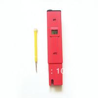 Red LCD Digital Pocket Pen Aquarium Pool Water Test Meter Measure PH Tester T0014