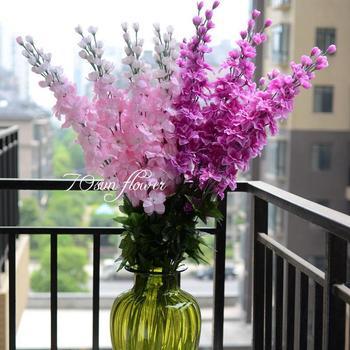 6 Color Rchids Larkspur Orchids Artificial Flowers Decoration