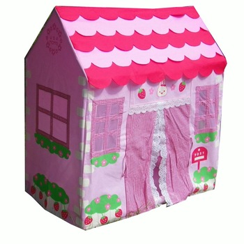 Exported to Europe bunny cute princess children's play house tent children toy dollhouse game house hut ball ball pool