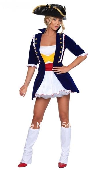 ML5335 Hot Selling Free Shipping American History Adult Costume Sexy Washington Costume Luxury Halloween Costume(China (Mainland))