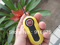 10 pieces / lot    New Fiat folding key shell 3 button 8 colors outside the selection, car key shell can be replaced