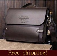 Free shipping! Men's business shoulder bag/Handbag; 5 kinds to choose