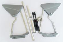 Furniture hardware hydraulic ambry door hinge H15(China (Mainland))