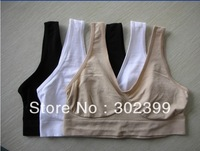 Free shipping 3pcs/set  AHH bra Sexy Seamless sport yoga bra similar Ahh / Genie sport leisure Bra - No box /opp bag