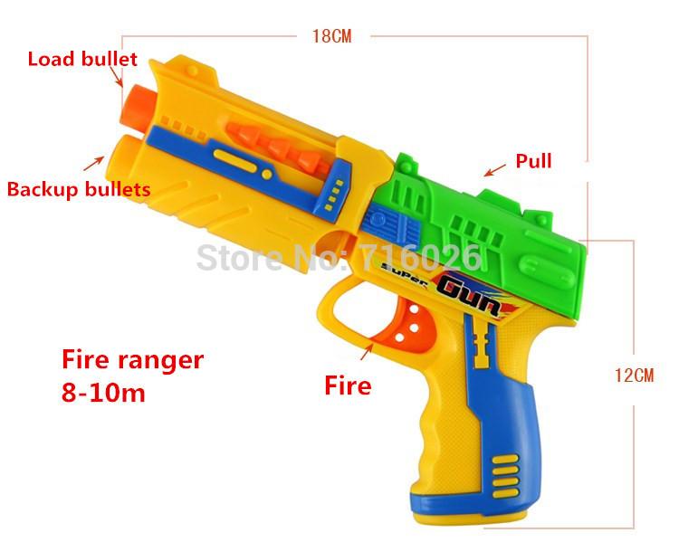 2015 New Nerf Gun Toy Pistola Nerf Plactic Gun Toys Plastic Shooting
