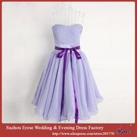 Fast Shipping Women's Fashion Short Length Chiffon Evening Dress Club Party Prom Gown 2015