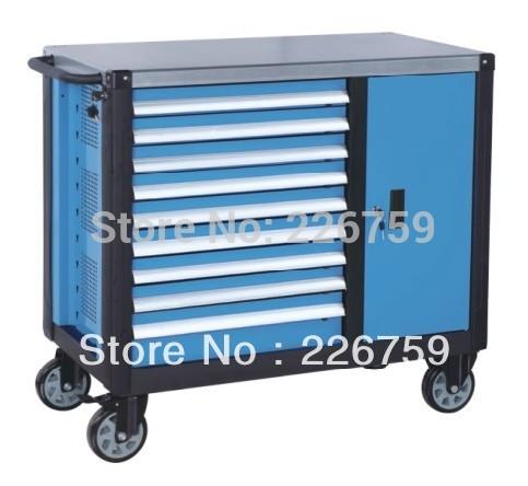 Supply 9 Drawers heavy tool cart, tool cabinet(China (Mainland))