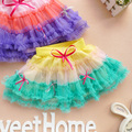 Wholesale girl party skirt chiffon cake skirt for summer 4pcs/lot free shipping