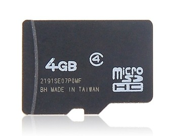 Free shipping Dropship 4GB 8GB 16 GB 32GB TF Card (Black)