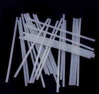 50set Pack 7mmx100mm Clear Healthy, non-toxic Glue Adhesive Sticks For Hot Melt Gun Car Audio Craft