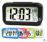 Alarm clock mute luminous led electronic clock small alarm clock large screen
