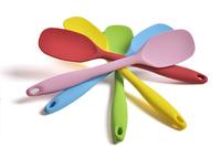 Free shipping Free shipping silcone spoon/ spatulas 100% food grade non-stick