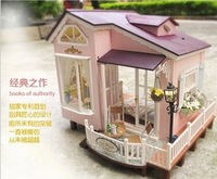 Diy Wooden Miniature Doll House Furniture Toy Miniatura Puzzle Model Handmade Dollhouse Creative Birthday Gift