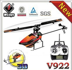 No.3-6CH 2.4G Flybarless Helicopter RC Hobby King V922(China (Mainland))