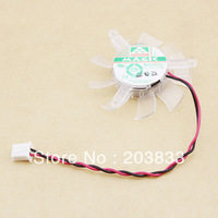 50PCS PC VGA Video Card Heatsink PC078 2pin 45mm MGA5012XR-O10 Cooler Cooling Fan