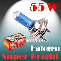 2pcs H7 Super Bright White Fog Halogen Bulb 55W Car Head Light Lamp parking car light source