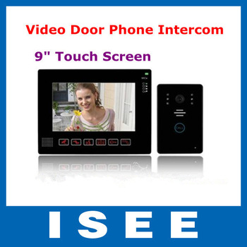 9' TFT LCD Screen Digital Door Bell Doorbell, with Sony CCTV Security Camera Free Shipping