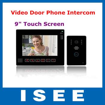 Big sale 9' TFT LCD Screen Digital Door Bell Doorbell, with Sony CCTV Security Camera Free Shipping