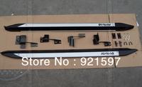 original OEM High quality aluminium alloy suitable for Toyota RAV4 2009-2012 Running board side step bar free shipping FedEx