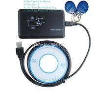 New Security USB rfid reader writer 125khz Smart ID Card Reader & Writer Duplicater for EM4100 compatible EM4305 T5577  Copier