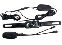2.4G Wireless Car Auto License Rear View Reverse Backup Camera Night Vision 480TVL Vehicle Parking Monitor System