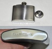 FREE SHIPPING 4OZ stainless steel hip flask Matt finishing