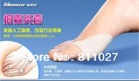 feet care hallux valgus correcton Gel bunion for Big toe bunion corrector toe spreader 2pairs=4 pcs free shipping