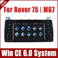 Head Unit Car DVD Player for Rover 75 / MG7 with GPS Navigation Radio BT TV USB SD AUX Map Auto Stereo Video Multimedia Sat Nav