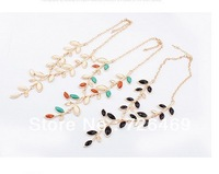 Promotion 327 female fashion necklace multicolour beige black aesthetic gentlewomen  1 pc Wholesale and Retail