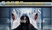 Free Shipping Assassins Creed DESMOND Hoodie DESMOND Hoody hot sale in USA Assassins Creed GHOST hoodies white