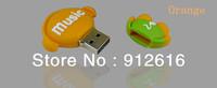 Free Shipping / 32G spike personalized cartoon u disk u disk 32G cute gift  / USB Flash Drives   U020