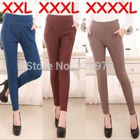 XXL 3XL 4XL women pants 2014 new arrival fashion women plus size pants slim pencil pants trousers free shipping